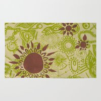 hawaii Area & Throw Rugs featuring Hawaii  by Aubree Eisenwinter