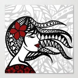 Teine Pasefika Canvas Print