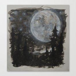 Moon 01 Canvas Print