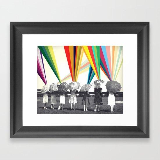 Modern women Framed Art Print
