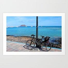 Incredible Ride! Art Print