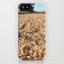 Gravel iPhone Case