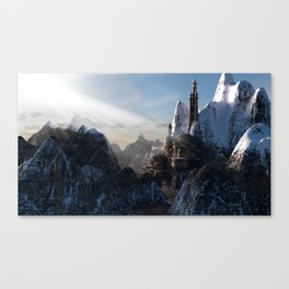 Fantasy Castle Canvas Print