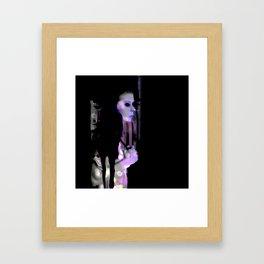 KILLING FRIENDS Framed Art Print