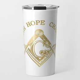 Masonic symbol Travel Mug