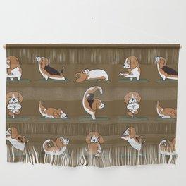 Beagle Yoga Wall Hanging