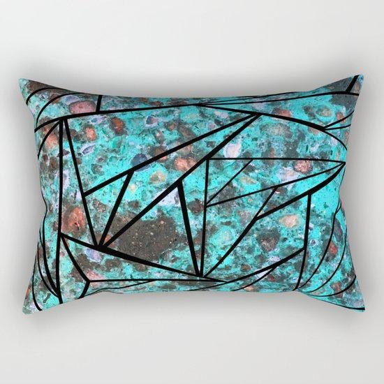 Broken Shards Rectangular Pillow
