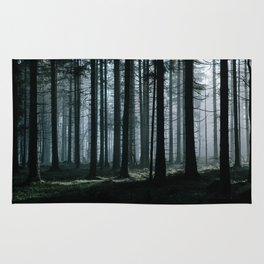 Mystery forest Rug