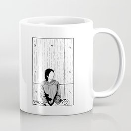 The Girl in a Box - Apprehension Coffee Mug