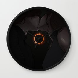 only what can be hidden- Wall Clock