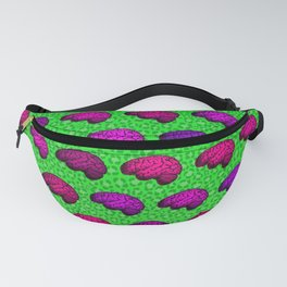 Brains And Leopard Print Fanny Pack