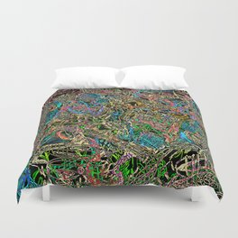 What goes inside my head Duvet Cover
