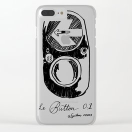 The Button Clear iPhone Case