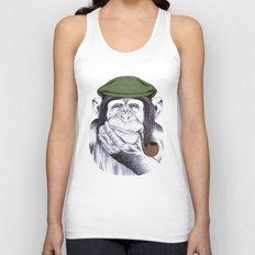 Wise Mr. Chimp Unisex Tank Top