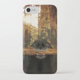Playful Labrador iPhone Case