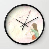 subaru Wall Clocks featuring I'm Never Changing Who I Am by Subaru