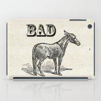 ass iPad Cases featuring Bad Ass by Jacqueline Maldonado