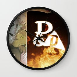 """Exposition Impossible"" - Dungeons & Doritos Wall Clock"