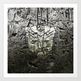 Autobot steel Art Print
