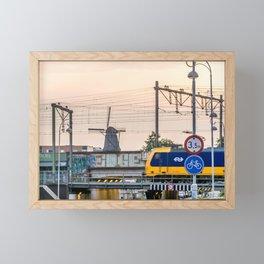 Sunrise Commute Framed Mini Art Print