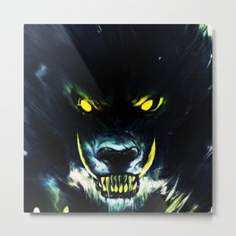 This monster mouth too cruel Metal Print