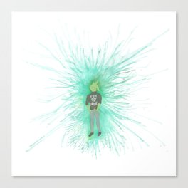 I'm trying so hard to be normal Canvas Print