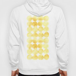 Imperfect Geometry Yellow Circles Hoody