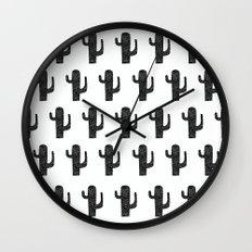 Summer in the Desert III Wall Clock