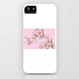 I need U (pink ver.) iPhone Case