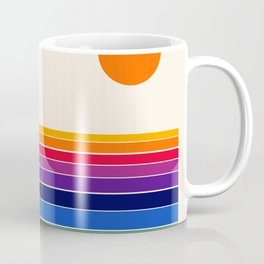 Coolie - retro 70s style throwback sunset sunrise socal cali beach vibes Coffee Mug