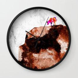 Cow Hill Wall Clock
