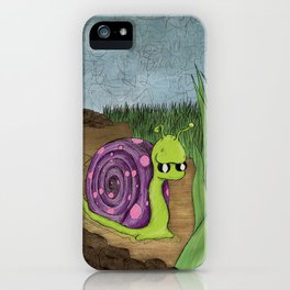 Traveling By Foot iPhone Case