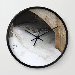 snowy pound Wall Clock