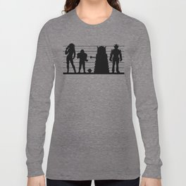 Doctor Who: The Whovian Suspects Long Sleeve T-shirt