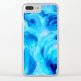 Eye of the Storm Clear iPhone Case