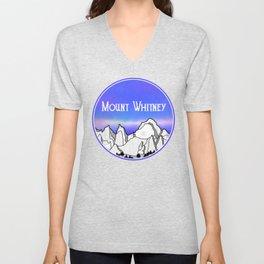 Mount Whitney Unisex V-Neck