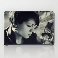 tegan and sara iPad Cases featuring Tegan Quin by Virginie Le Guen-Bertheaume
