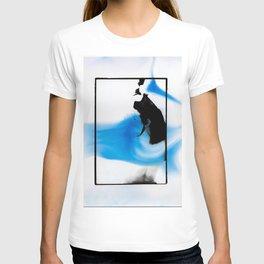 Female dark room print scan T-shirt