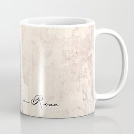 la Vie en Rose vintage Coffee Mug