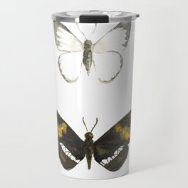 Two Butterflies - Nature Study #3 Travel Mug