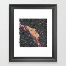 Galactic Shift Framed Art Print