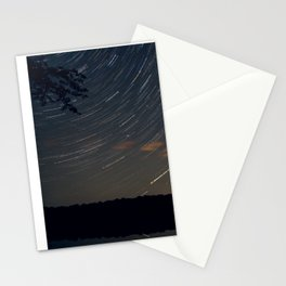 Starry Lined Stationery Cards