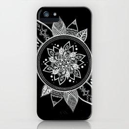 Doodle art, inverted iPhone Case