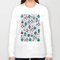 silver Long Sleeve T-shirts featuring Silver Trinklets  by Poppy & Red