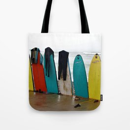 Wave Series Photograph No. 21. - Day's End Tote Bag