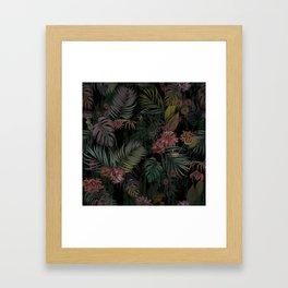 Tropical Iridescence Framed Art Print