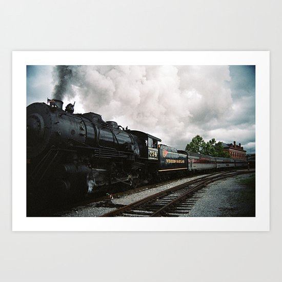 Leaving Cumberland Art Print