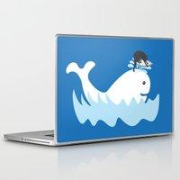 surf Laptop & iPad Skins featuring Surf by Hagu