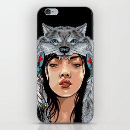 She Wolf iPhone Skin