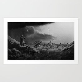 March of the Necromancer Art Print